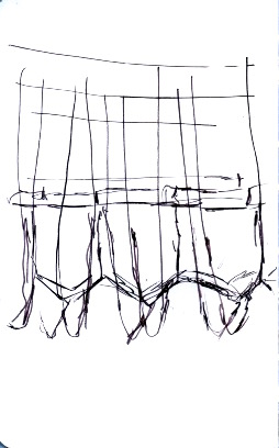 Knee gates